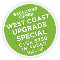 Exclusive Offer – West Coast Upgrade Special 2016