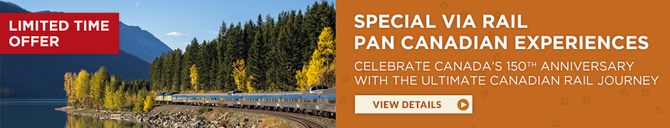 Limited Time Offer – VIA Rail Canada