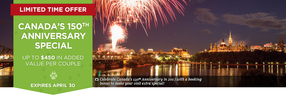 Exclusive Offer – Canada's 150th Anniversary Special