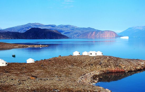 Premium safari camp on Baffin Island