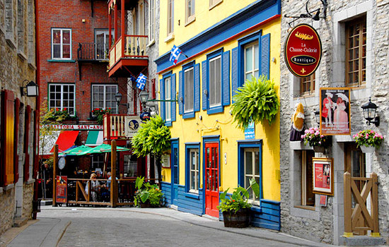 In the heart of historic French Canada, sample the cuisine and discover cultural gems.