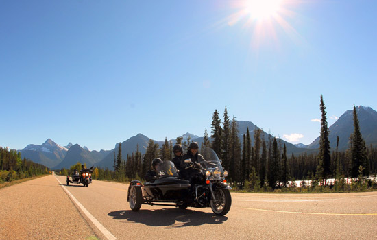 Jasper motorcycle tour