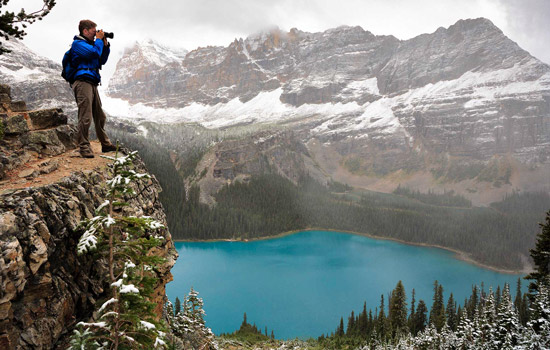 Photographing Lake O'Hara in Yoho National Park
