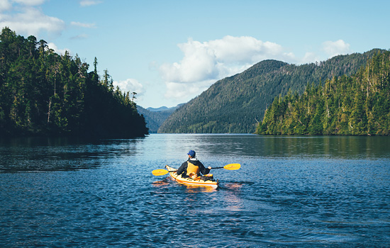 Haida Gwaii and the Canadian Rockies