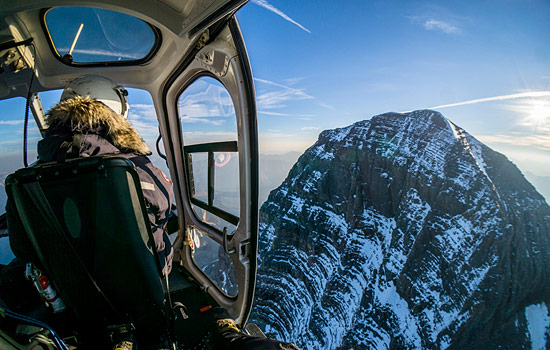 Make the most of your time by upgrading to a once-in-a-lifetime helicopter tour.