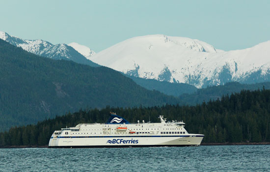 Cruising the Inside Passage on a BC Ferries day cruise