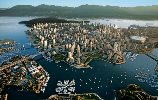 Your trip begins in the vibrant city of Vancouver