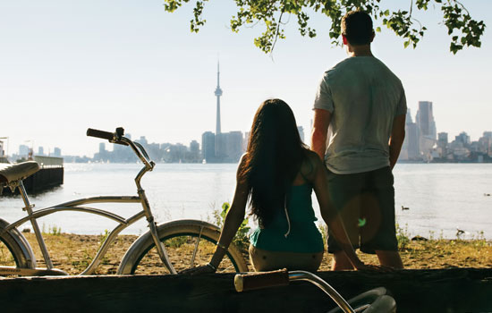 Toronto Island bicycle tour