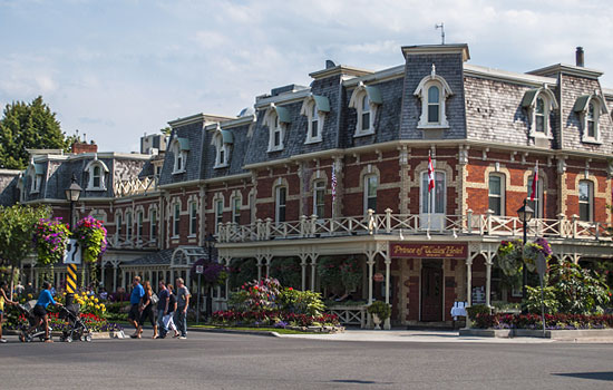 The charming town of Niagara-on-the-Lake