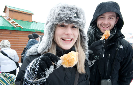 Winter culinary tour
