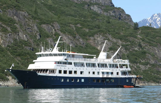 Passengers on Un-Cruise' Safari Endeavour in Alaska
