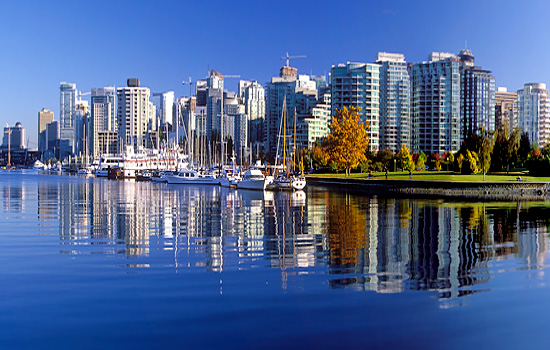 End your Canada rail trip in Vancouver, British Columbia