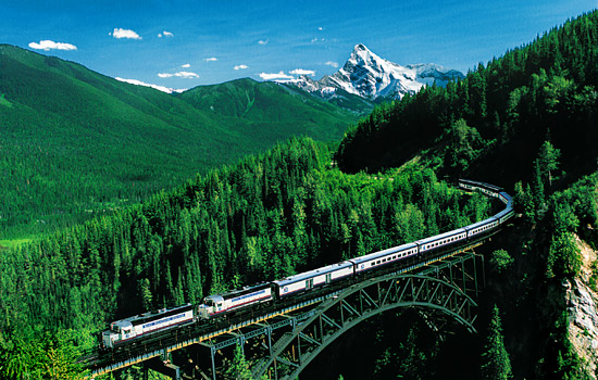 Tour the Rockies onboard the Rocky Mountaineer.