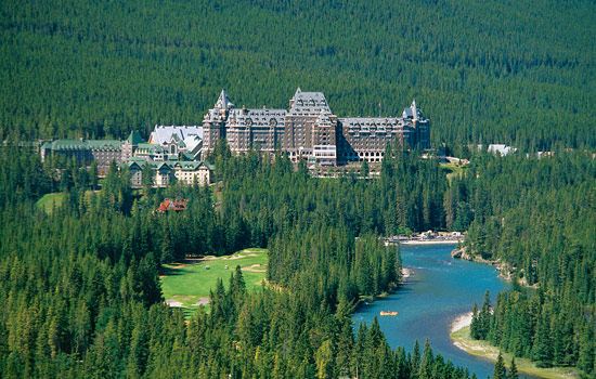 Play golf at the world famous Banff Springs golf course or enjoy a spa treatment.