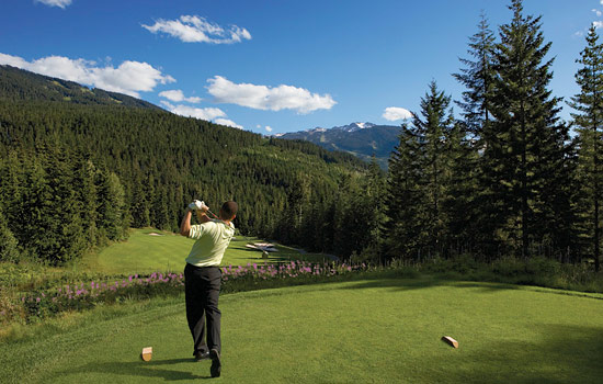 Play golf at one of Whistler's world class golf courses.