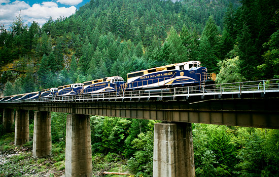 Ultimate Canadian Rockies Rail Journey