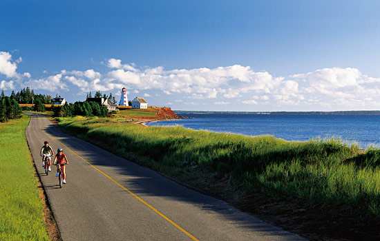 Drive through scenic fishing villages, steeped in Canadian maritime history.