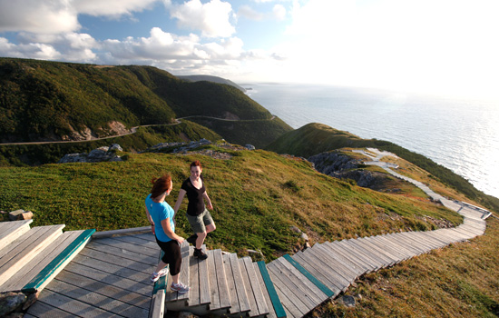 Hiking the Cabot Trail