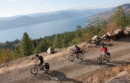 Kettle Valley bicycle tour