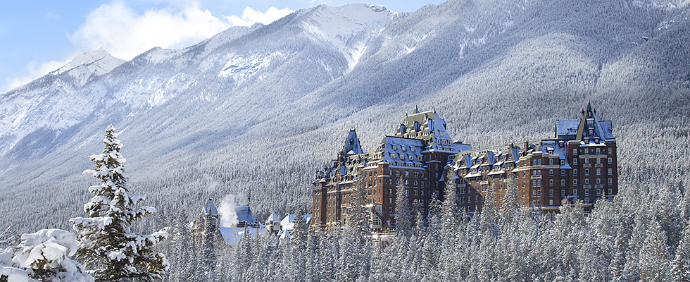Explore The Rocky Mountains On A Winter Rail Journey