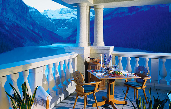 The iconic panorama of Lake Louise is the highlight of this trip for many.