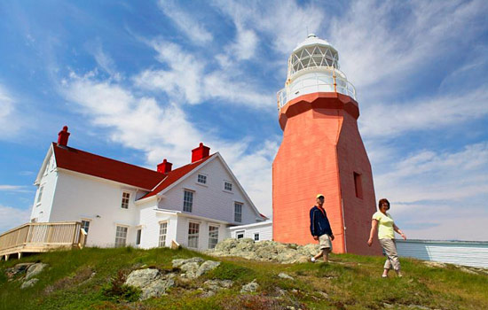 Twillingate lighthouse in Newfoundland