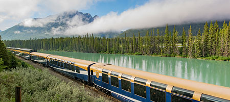 Read about the Rocky Mountaineer train