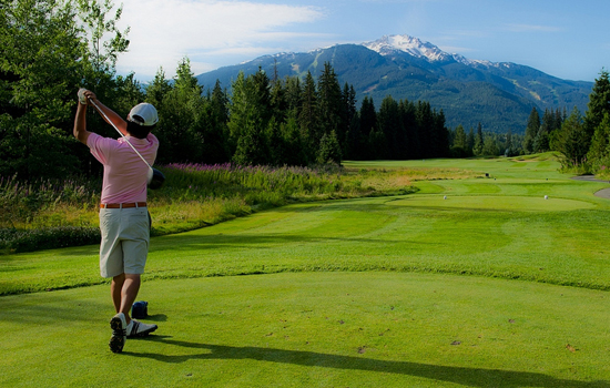 Golf vacations in Canada