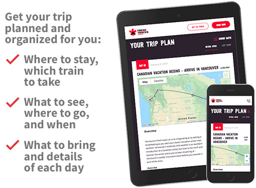 Get your free Canadian trip plan